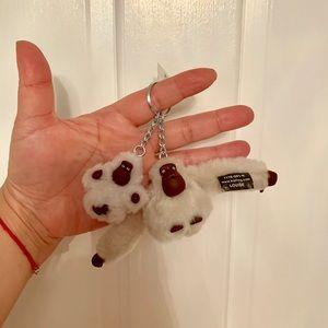 Kipling Monkeys Keychain (Louise & Taivon)